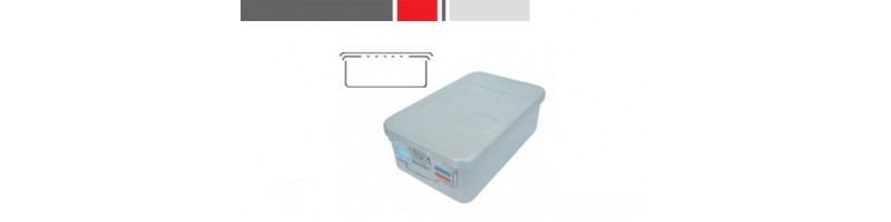 3/4 Size Surticon™ Safe Sterilization Containers