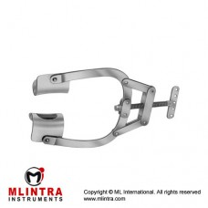 Mercedes Thoracic Retractor Complete With Lateral Blades Stainless Steel,