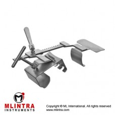 I.M.A Mammaria Retractor Stainless Steel, Size of Lateral Blades - Spread 40 x 150 mm - 110 mm