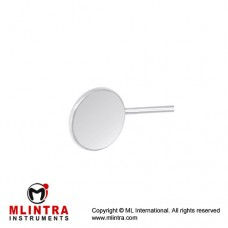 Mouth Mirror (Rhodium Coated) Fig. 4 Stainless Steel, Diameter 22 mm