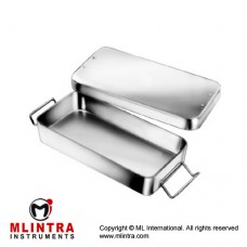 Instrument Box Stainless Steel, Size 205 x 105 x 35 mm