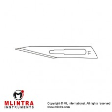 Scalpel Blade No. 11 Pack of 100 Stainless Steel,