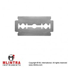 Razor Blade Pack of 10 Stainless Steel,