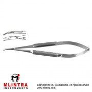 Micro Scissor Curved - Sharp/Sharp Stainless Steel, 14.5 cm - 5 3/4""