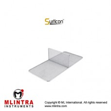 Surticon™ Sterile 1/1 Divider Two Partitions Stainless Steel, Size 540 x 250 x 130 mm