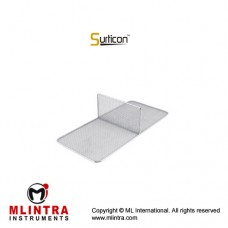 Surticon™ Sterile 1/1 Divider Two Partitions Stainless Steel, Size 540 x 250 x 180 mm