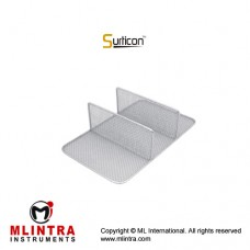 Surticon™ Sterile 1/1 Divider Three Partitions Stainless Steel, Size 540 x 250 x 130 mm