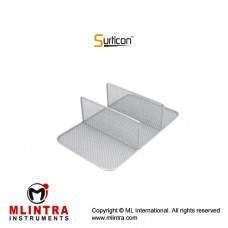 Surticon™ Sterile 1/1 Divider Three Partitions Stainless Steel, Size 540 x 250 x 180 mm