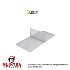 Surticon™ Sterile 3/4 Divider Two Partitions Stainless Steel, Size 405 x 250 x 80 mm