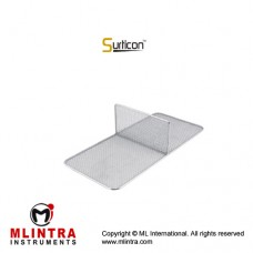 Surticon™ Sterile 3/4 Divider Two Partitions Stainless Steel, Size 405 x 250 x 110 mm