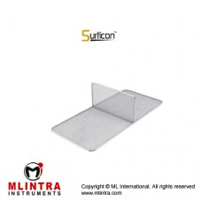 Surticon™ Sterile 3/4 Divider Two Partitions Stainless Steel, Size 405 x 250 x 130 mm