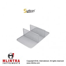Surticon™ Sterile 3/4 Divider Three Partitions Stainless Steel, Size 405 x 250 x 80 mm