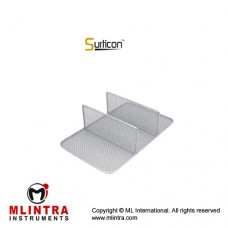 Surticon™ Sterile 3/4 Divider Three Partitions Stainless Steel, Size 405 x 250 x 110 mm