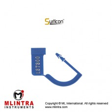 Surticon™ Sterile Security Seal Blue With Numbers Plastic,