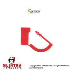 Surticon™ Sterile Security Seal Red Plastic,