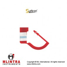 Surticon™ Sterile Security Seal Red With Indicator (Pack of 100) Plastic,