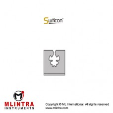 Surticon™ Sterile Silicone Fixation System Stainless Steel - Silicone, Size 38 x 30 mm