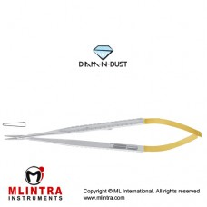 Diam-n-Dust™ Micro Needle Holder Straight Stainless Steel, 14 cm - 5 1/2""