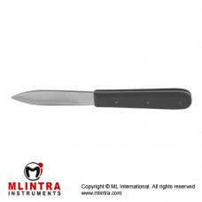 "Virchow Cartilage Knife With Wooden Handle Stainless Steel, 21 cm - 8 1/4"" Blade Size 80 mm"